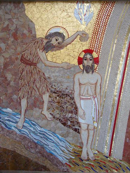 Resultado de imagen de bautismo señor rupnik