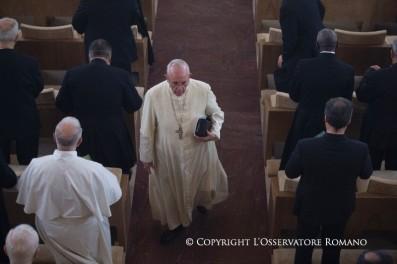ejercicios espirituales papa francisco