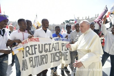 francisco refugiados