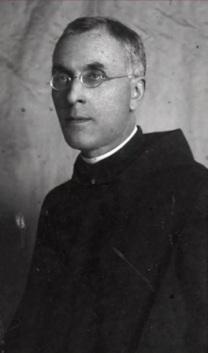El padre Antolín Pablos.