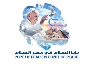 logo viaje papa egipto