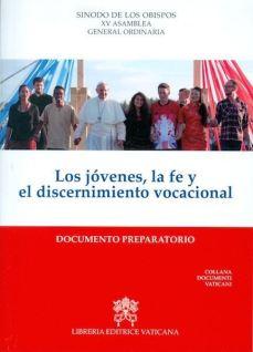 sinodo2018 documento preparatorio
