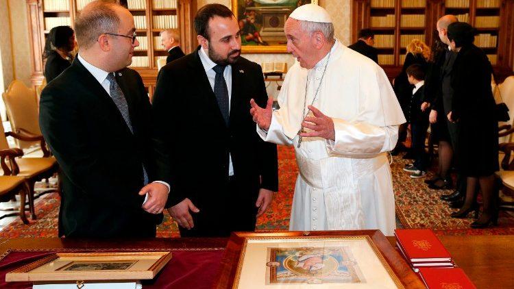 Resultado de imagen de en Palazzo Begni, sede de la Secretaría de Estado para las Relaciones y Políticas Exteriores de la República de San Marino