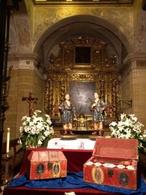 santos niños justo y pastor