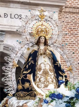 virgen de los angeles getafe