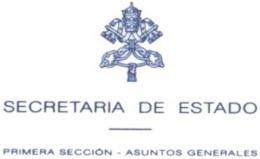 secretaria de estado asuntos generales