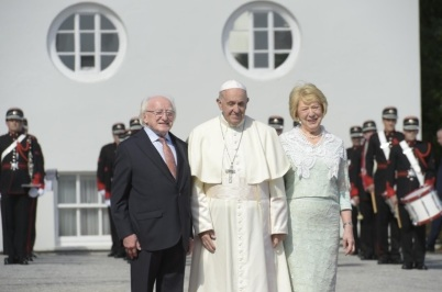 francisco presidente irlanda