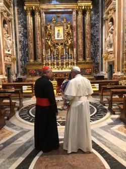francisco santa maria la mayor salus populi